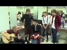 One Direction sing What Makes You Beautiful live backstage for BBC Children in Need<< LOUIS DID GREAT!!<<DOESN'T HE ALWAYS?! (;