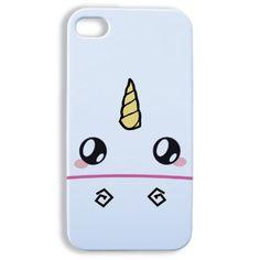 Coque Iphone 4 et 4s Face de licorne kawaii - Boutique www ...