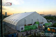 LIRI TFS Curved Tent For Wedding Party