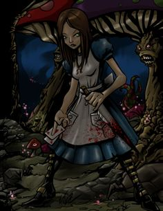 American Mcgee's Alice by *BaneNascent on deviantART