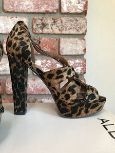 ecdd1be69d Aldo Women Trendy Leopard Heels. Shoe Size 8 #fashion #clothing #shoes #