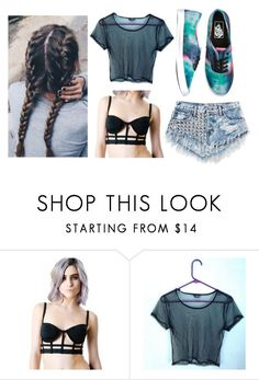 """mesh"" by stromwick1235 ❤ liked on Polyvore featuring Vans"