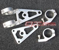 100.00$  Buy now - http://alib4z.worldwells.pw/go.php?t=32393492448 - motorcycle accessories modified headlights bracket cnc Lighthouse 31mm