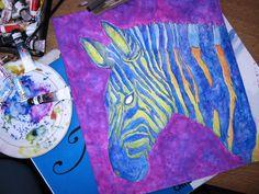Psychedelic Zebra : )