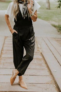 f53aa044a490 Black Overall Jumpsuit For Women