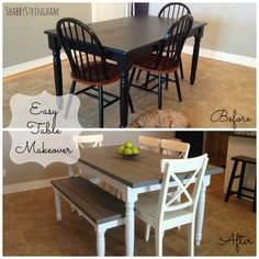 Easy Table Makeover