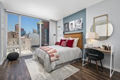 These Chicago studio apartments are all on the 'Nice' list this year. Great locations meet great prices as some of these studios offer FREE RENT for up to 2 months, like this modern studio in the South Loop. World-class views can be had for incredible discounts, and these apartment buildings supply every imaginable amenity for renters: in-unit laundry, state-of-the-art fitness facilities, swimming pools, hot tubs and sauna rooms. | Domu Chicago Apartments