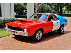 1969 AMC AMX.