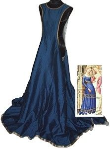 Rosalie's Medieval Woman Noblewomans Surcote Tutorial