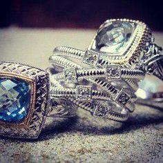Pretty Gabriel Rings Available at Jackson Diamond Jewelers Enid, Oklahoma
