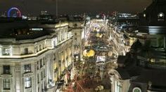 Regent Street 2015 Christmas Lights: Timeless Elegance