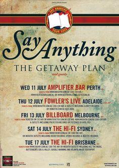 Say Anything Australian Tour - Details at http://www.bombshellzine.com/blog/2012/05/say-anything-announce-australian-tour-dates/