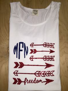 Hey, I found this really awesome Etsy listing at https://www.etsy.com/listing/237502613/freedom-arrow-fourth-of-july-monogram