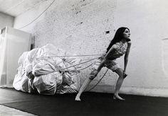 Christo, Wedding Dress, 1967, Christo and Jeanne-Claude,