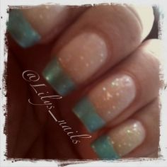 Milani: Pool Party and Sally Hansen: Teal-y Cool
