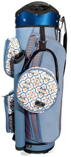 Carry your clubs in style with this Morocco Sassy Caddy Ladies Golf Cart Bags from Lori's Golf Shoppe!