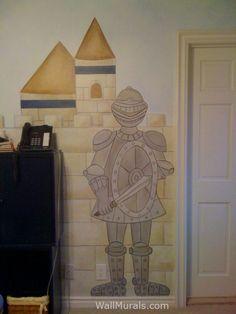 Castle Wall Murals by Colette: Castle Murals - Castle Theme Wall Murals