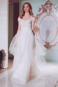 Reem Acra Bridal Spring 2015 / Wedding Style Inspiration / LANE