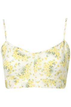 Topshop Buttercup Crop Top. WANT. 90s heroin chic.