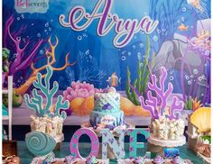 """Under the Sea / Birthday """"Under The Sea!""""   Catch My Party"""