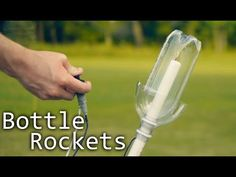 How To Make Alcohol Rockets From Soda Bottles - YouTube
