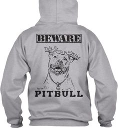 Protected by Pitbull Hoodie