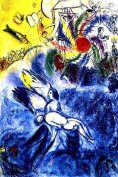 """""""Création de l'homme"""" : Chagall, musée Chagall à Nice"""
