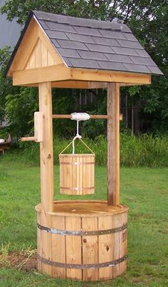 This cute little thing is a wishing well. It runs bout 450.00 dollars