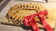 Oppskrift på Pølsekrans Tapas, Sushi, Sausage, Snacks, Ethnic Recipes, Food, Appetizers, Sausages, Essen