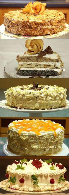 Рецепты тортов от кулинаров