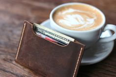 Fun little wallet sleeve that might replace your bulky wallet forever. Unclutter your life and give this little gem a try.    Features:    ---