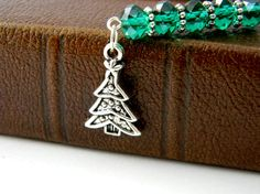 Christmas Tree Bookmark by hiddentreasure on Etsy, $5.00