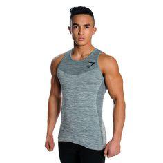 GymShark Fit Seamless Tank - Melanite Vest tanks | GymShark International | Innovation In Fitness Wear