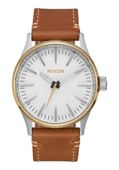 Just arrived in store at WATCH IT! RIDEAU - the Nixon Speedster II in Sentry Chrono, Sentry 38, and Rollo (all leather)