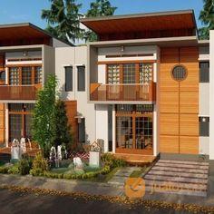 Rumah 2 Lantai Dekat Tempat Wisata Lembang Bandung   Kab. Bandung Barat   Jualo Home Fashion, Garage Doors, Mansions, House Styles, Outdoor Decor, Home Decor, Balcony, Decoration Home, Manor Houses