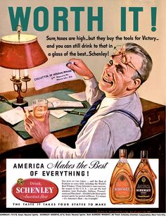 A must see - How Ads somatize reality and how companies used WAR to promote their Products vía Vintage Advertisements, Vintage Ads, Vintage Posters, Vintage Wine, Vintage Photos, Magazine Ads, Life Magazine, Vintage Cocktails, Old Ads