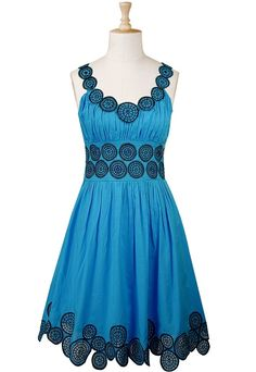turquoise summer dress!!