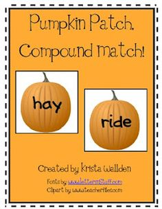 Compound words Learning Centers, Literacy Centers, Kids Learning, Classroom Language, Art Classroom, Classroom Ideas, Teaching Reading, Teaching Tools, Holiday Activities