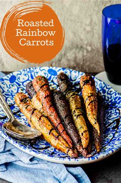 Rainbow carrots are sweet, colorful, beautiful. Healthy food doesn't have to be fancy or complicated. Just keep it easy and let nature do all the work. And this side dish recipe is the perfect example. Vegan and gluten-free. #carrots #roasted #rainbow #side dish #healthy #vegan #gluten-free #recipe Kosher Recipes, Vegan Recipes Easy, Vegetarian Recipes, Healthy Vegetables, Healthy Food, Veggies, Best Side Dishes, Side Dish Recipes