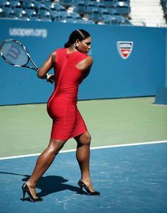 Serena Williams is number one in women's tennis again and has been number one in her career six different times.  She's won all the major tennis tournaments more than once and has four Olympic gold medals. She is the only female player to have won over $50 million in prize money. Even when she suffered a foot injury, had surgery that knocked her out of the sport altogether, she came back and is standing at number one again.