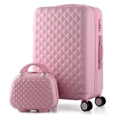 119.19$ Watch now - http://aliwtx.shopchina.info/go.php?t=32260646327 - 14+20 Inch,Woman Travel Case Suitcases,diamond Luggage Travel Bag,ABS Travel Luggage,Rolling Luggage,Suitcase On Wheels 119.19$ #magazineonlinebeautiful