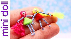 DIY Miniature Doll for a Matchbox Dollhouse