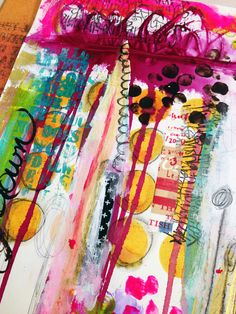"""""""Every Life Has a Story!"""" - {Roben-Marie Smith} - Art Journal Musical Chairs..."""