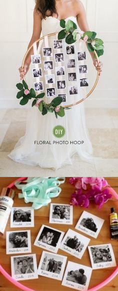 Floral Hula Hup / www. Diy Wedding, Dream Wedding, Wedding Day, Bohemian Wedding Gifts, Fashion Bubbles, Photo Deco, Bridal Shower, Baby Shower, Shower Party