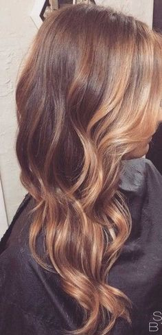 Don't know that I would ever go this blonde but like this...40 Blonde And Dark Brown Hair Color Ideas