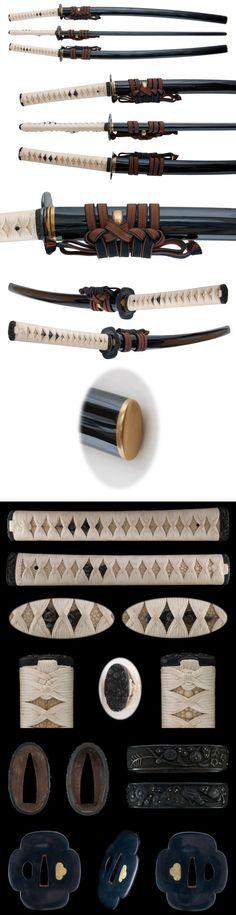The Japanese sword - Katana Katana Samurai, Samurai Weapons, Katana Swords, Japanese Blades, Japanese Sword, Japanese Warrior, Kendo, Swords And Daggers, Knives And Swords