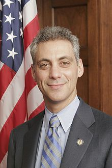 Rahm Emanuel is a former White House Chief of Staff and is the first Jewish mayor of Chicago. His father was born in Jerusalem.