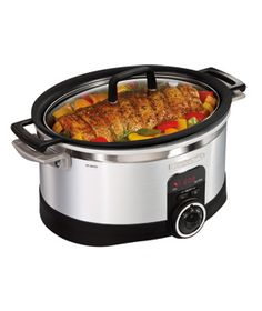 Hamilton Beach 6-Quart Programmable Stovetop Slow Cooker    With this convenient unit, slow cooking truly is a one-pot meal: Simply brown meat in the removable insert on your stove, then add the rest of your ingredients and let dinner finish in the slow cooker.    To buy: $70, target.com.