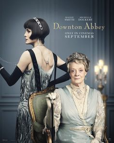 Michelle Dockery as Lady Mary Talbot and Maggie Smith as Violet Crawley, Dowager Countess of Grantham Lady Mary Crawley, Downton Abbey Costumes, Downton Abbey Movie, Downton Abbey Fashion, Downton Abbey Characters, Michelle Dockery, Maggie Smith, It Movie Cast, It Cast