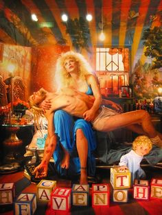 Courtney Love by David LaChapelle